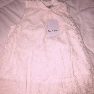 Tops - Lace tank top (never worn)